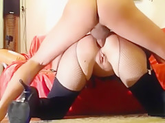 Rough Ass to mouth training Slave Jana