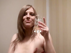 Fiery Lesbo Teens Alone In The Bedroom - RealLesbianExposed