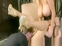 Bree olson gets some intruders then some hot sex follows