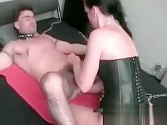 Hot busty big boobed brunette babe get