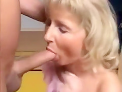 Cougar that is blonde have in stroking schlongs excellent e