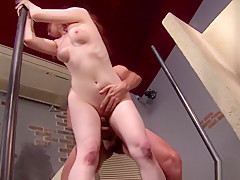 Amateur Ginger Teen Takes It Like A Pro