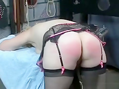 Young honey loves the rough play on her twat