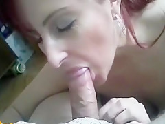 Awesome blowjob from Cousin