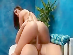 Lucky massage parlor guy gets to fuck