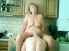 Fabulous amateur webcam, chair, hairy pussy adult video