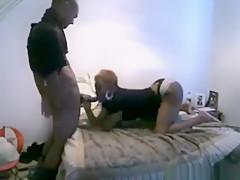 Crazy private oral, hardcore, webcam porn scene