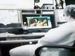 Crazy homemade creampie, vaginal cumshot, gilf sex scene
