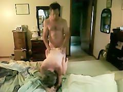 Exotic private short hair, milf, hardcore sex movie