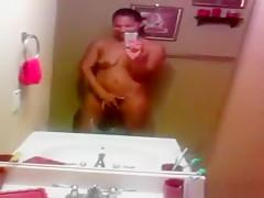 Incredible exclusive dark hair, ebony, big boobs sex movie