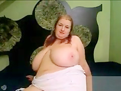 Fat Mother With Some Very Saggy Breasts