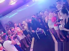 Horny sweeties get absolutely silly and naked at hardcore pa