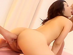 Hatsumi Kudo is oiled and pumped hard