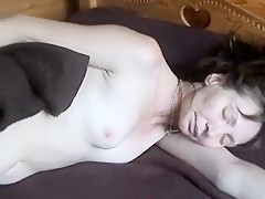 Amateur straighty gives up the ass to voyeur roommate