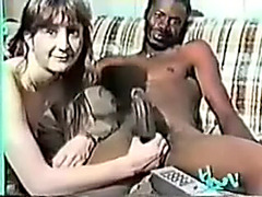 I love to watch how my whorish wife have sex with darksome boy-friends
