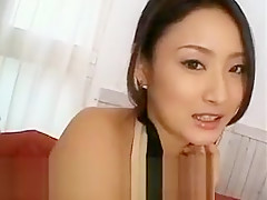 Risa Aian innocent asian girl is speaking about sex