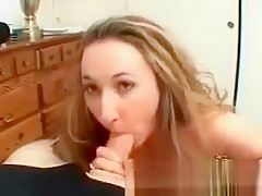 Pretty face horny MILF give guy amazing