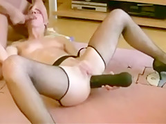 Kate 55 Years Old Loves Cucumber In Ass