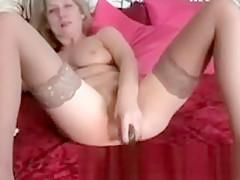 Hot Sexy Nasty Mature Milf Plays