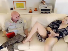 Curvy Redhead Fingering Her Clit On Webcam