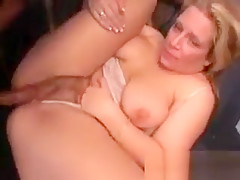 Sexy Brunette Milf Gets Pounded Hard