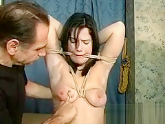 Cute Teen Chick Gets Her Tits