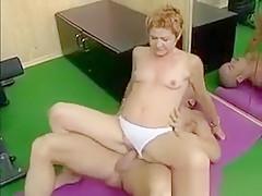 Nasty Blonde Woman Riding An Hard Cock