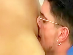 Nasty Horny Schoolgirl Slut Sucks Then