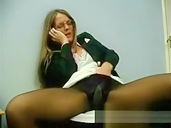 Tight Pantyhose And Fetish Porn For Seductive Slut