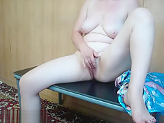 Solo Granny Showing Her Cunt