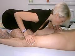 Wife In Stockings Sucking