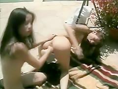 Outdoor Amateur Lesbian Orgy