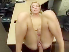 Attractive blonde woman gets Shawns dick