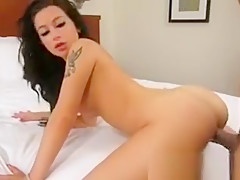 Adriana pussy pumped hard at XXX casting