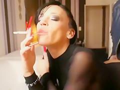 Smoking, Long Nails, Anal