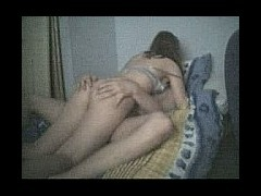 Hot young couple film their fucking