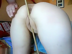 So Pretty Wife Ass And Pussy Gets Gentle Hit With A Sex Toy By Lustful Husband