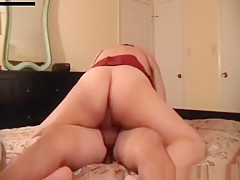 Fabulous amateur hardcore, bedroom, upskirt porn video