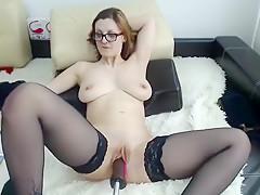 Big Boobs Amateur Slut All Holes Railed Part 04