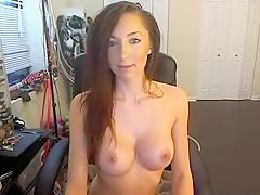 Sexy Webcam Teen Does A Striptease Part 03