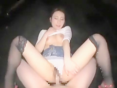 Slutty Babe In Stockings Gets Her Twat Devoured And Deepthr Part 05