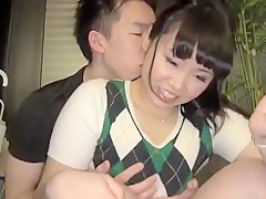 Japanese punishment and hardcore threesome sex Part 01