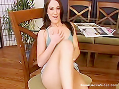 Tight brunette amateur has her pussy wrecked
