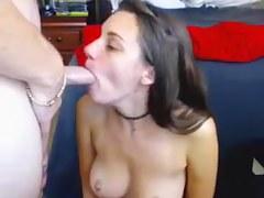 Hottest Amateur clip with Webcam, Brunette scenes