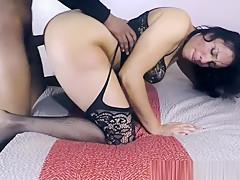 Big Booty Latina Taking Dick Doggystyle