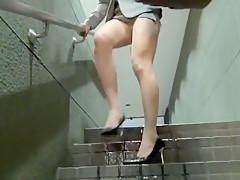 Desperate Wetting in Metro Station