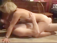 Wife has many orgasms with lover; hubby films; other wife watches!