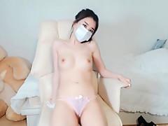 AV韩国学生妹,可爱豆腐胸,白嫩