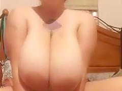 Sexy Redhead Blows & Bounces