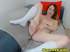 Horny Babe Having A Hot Masturbation on Cam